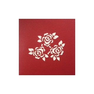 """POP UP CARD COMPLEX """"Flower"""""""