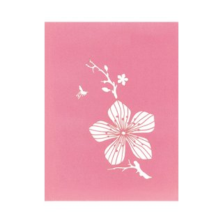 """POP UP CARD SPECIAL """"Cherry Trees"""""""