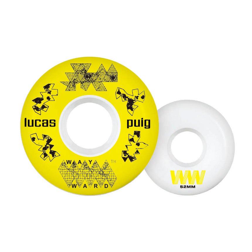 Wayward Lucas Puig New Harder 52mm 101A FUNNEL CUT