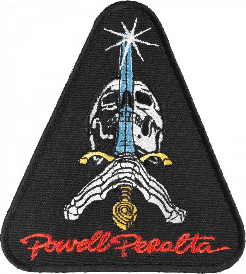 パウエルペラルタ ワッペン スカル&ソード  POWELL PERALTA ワッペン SKULL&SWORD