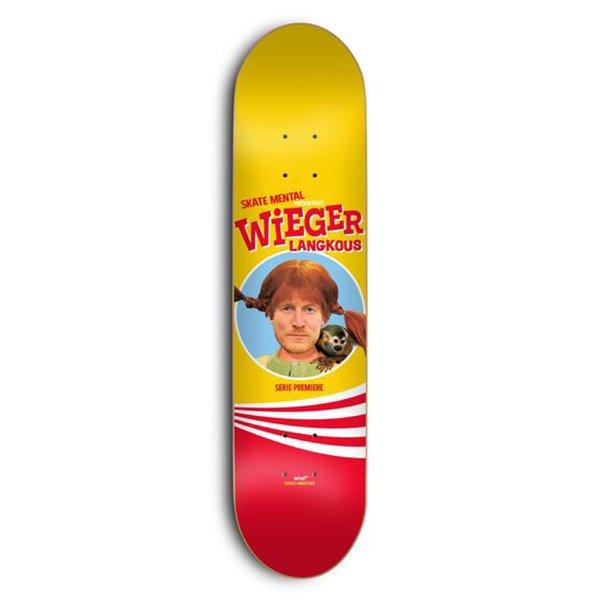 スケートメンタル Weiger-Langkous Deck W8.125 Skate Mental Weiger-Langkous Deck W8.125