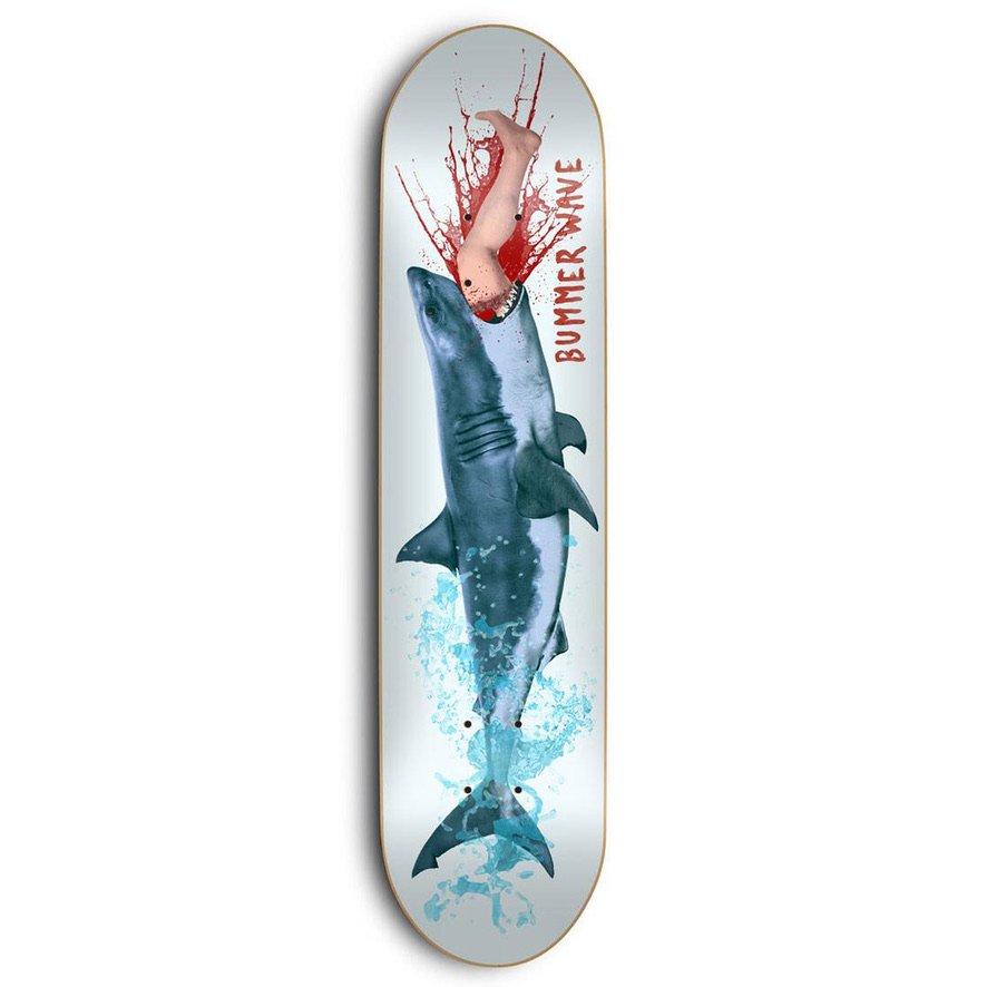 スケートメンタル Bummer Wave デッキ Skate Mental Bummer Wave Deck W8.38