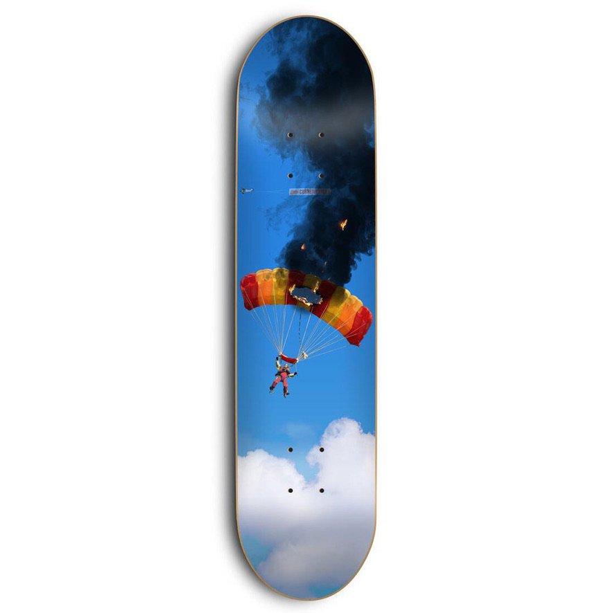 スケートメンタル Curren Caples Crash & Burn デッキ Skate Mental Curren Caples Crash & Burn Deck  W8.25