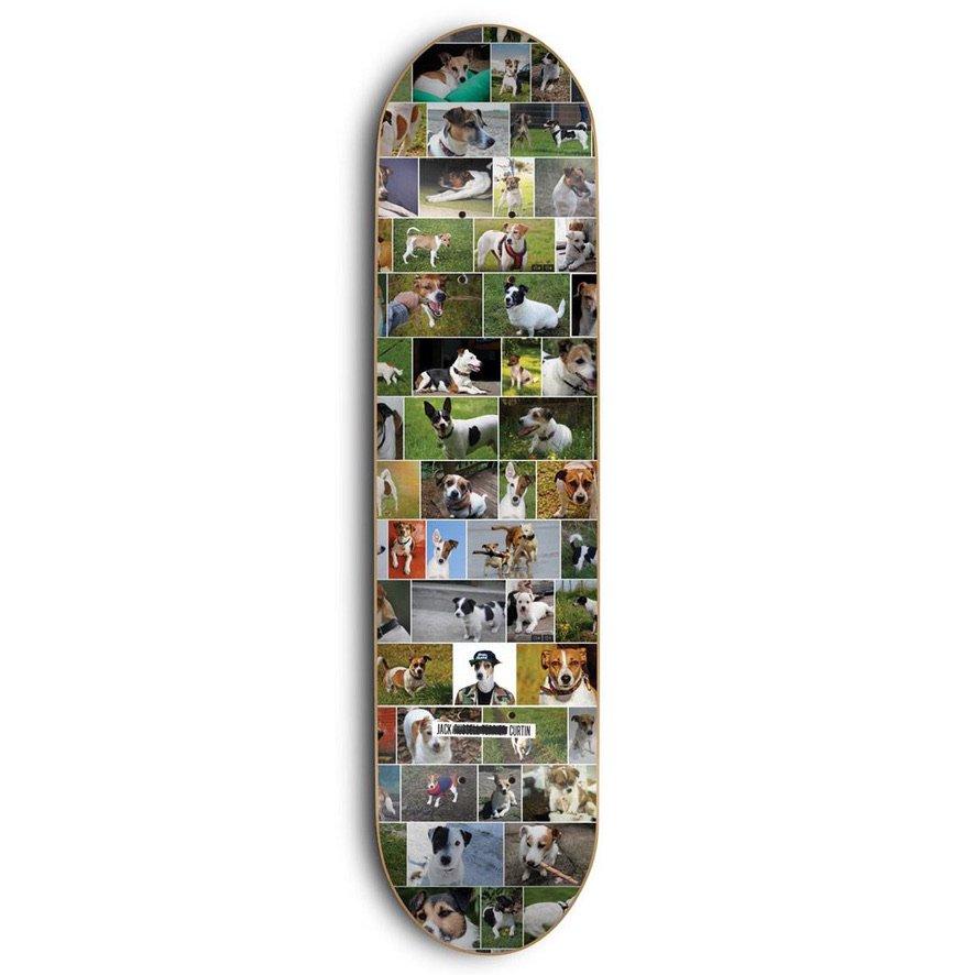 スケートメンタル Curtin Dogs デッキ Skate Mental Curtin Dogs Deck W8.0
