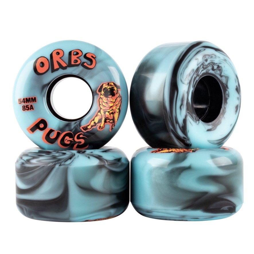 ORBS WHEELS PUGS SWIRLS 85A 54mm ソフトウィール ORBS WHEELS PUGS SWIRLS 85A 54mm  SOFTWHEEL