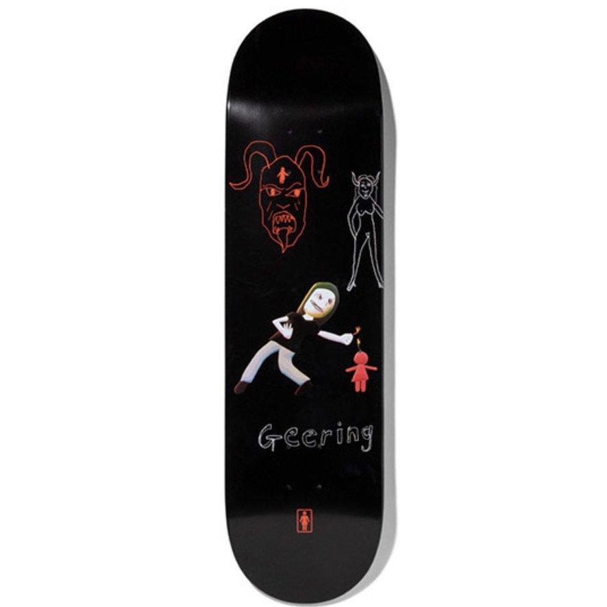 ガールスケートボード BREANA GEERING ONE OFF デッキ W8.0 GIRL SKATEBOARDS BREANA GEERING ONE OFF DECK W8.0