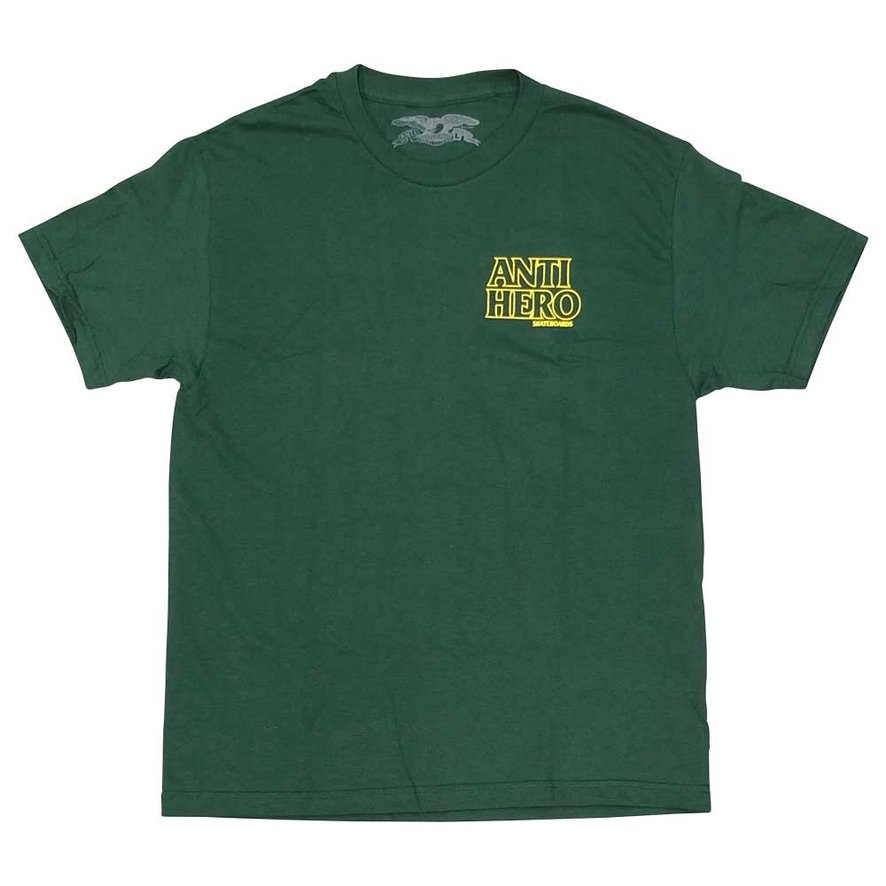 アンタイヒーロー LIL BLACK HERO OUTLINE S/S Tシャツ ANTIHERO LIL BLACK HERO OUTLINE S/S T-Shir