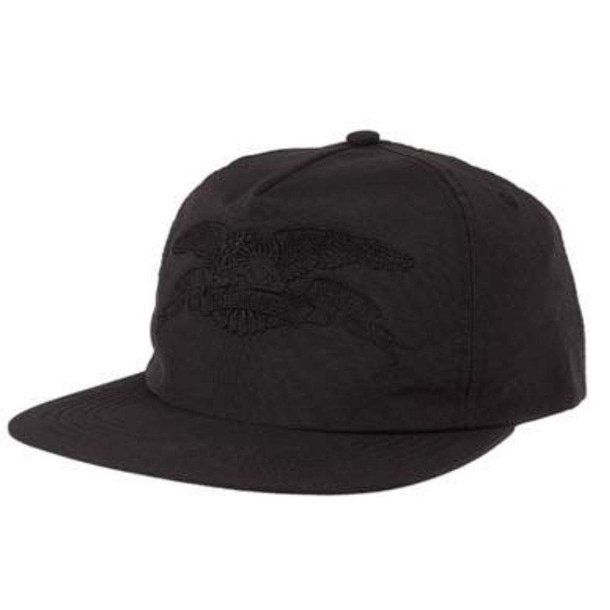 アンタイヒーロー BASIC EAGLE スナップバックキャップ ANTIHERO BASIC EAGLE Snapback CAP ALL BLACK