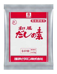 業務用 理研 リケン 和風だしの素 G#100【1kg】