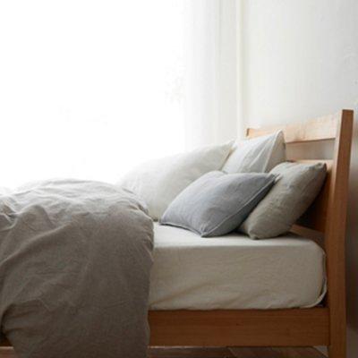 フレンチリネン 枕カバー/43×63cmサイズ(封筒式)