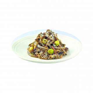 まめいりこ(煮干しいりことグリーンピースの佃煮)300g
