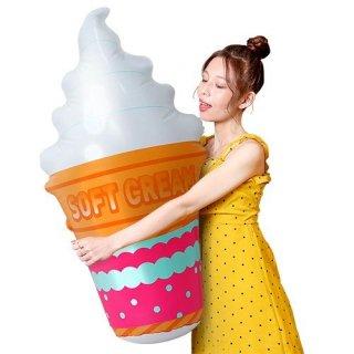 メガPOPソフトクリーム