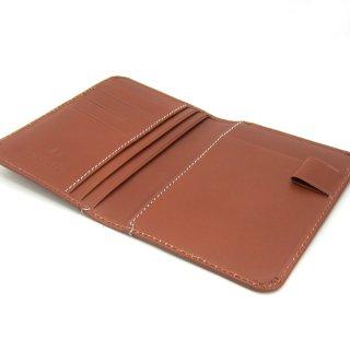 パスポートケース 薄い 航空券 機能的 コンパクト 本革 イタリアンレザー