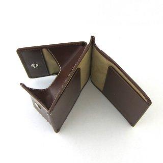 ミニウォレット 財布 お札 コイン カード コンパクト ミニマル 本革 イタリアンレザー