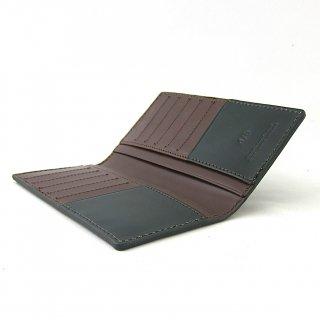 ロングウォレット カードケース メンズ 薄い 本革 ブライドルレザー