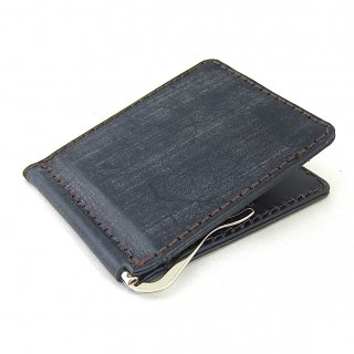マネークリップ 財布 カードケース メンズ 薄い 本革 ブライドルレザー