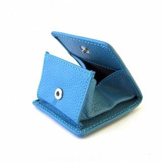 コインケース 小銭入れ ボックス型 レディース 本革 ペブルグレイン