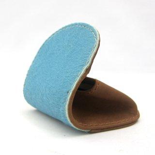 コインケース 小銭入れ レディース ボックス型 本革 ハラコ カラー