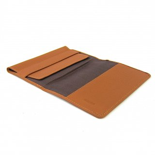 ブックカバー 文庫本カバー ノートカバー A6 厚み調整 本革 ペブルグレイン
