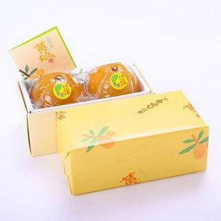 日向夏ようかん「黄娘」 2個箱入り 冷凍便に同梱可能の商品です。