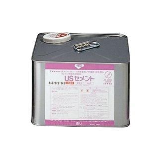 東リ接着剤<br> USセメント/9kg缶<br> 施工面積約25平米<br>