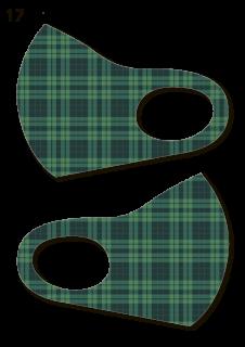 絵図屋オリジナル柄マスク17-20(2枚入)