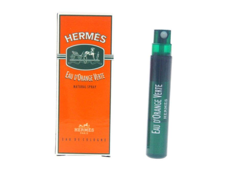 【新品】エルメス HERMES 香水 サンプル オードランジュ ヴェルト EAU D'ORANGE VERTE オレンジ香 ウッディノート 2ml メンズの商品画像