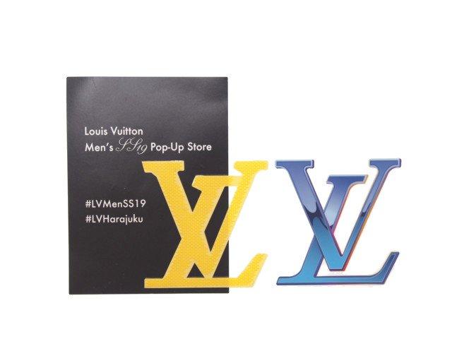 【新品】ルイヴィトン LOUIS VUITTON ノベルティ ステッカー シール 原宿ストア限定の商品画像