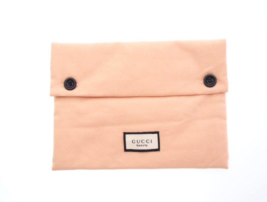 【新品】グッチ GUCCI ノベルティ ビューティー フラットポーチ 花柄ピンクの商品画像
