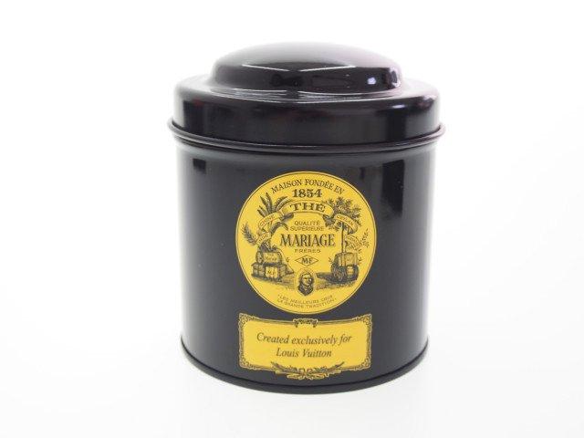 【未使用】ルイヴィトン LOUIS VUITTON マリアージュ フレール フレンチティーアルミ缶の商品画像