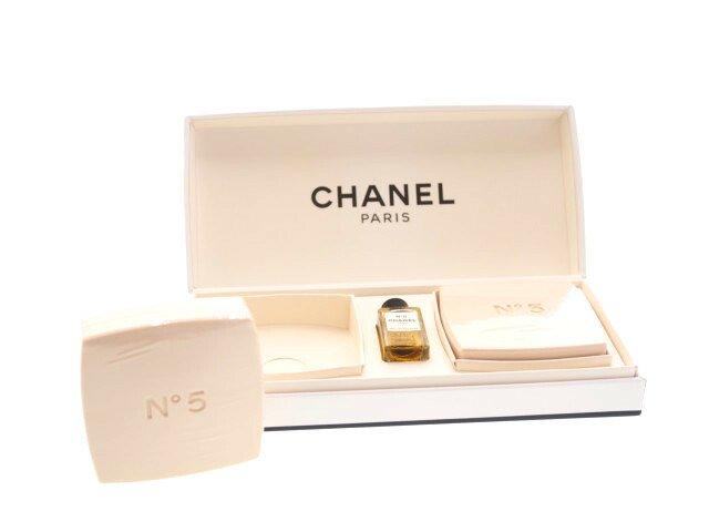 【未使用】シャネル CHANEL No.5 オードゥトワレット4ml 石鹸 サヴォン2個 セットの商品画像