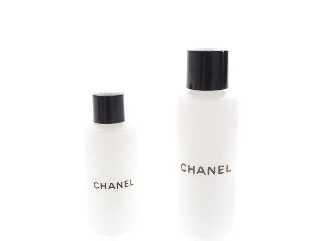 【新品】未使用 シャネル クリアーボトル トラベル容器 2本セットの商品画像