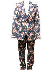 【中古】フェノメノン PHENOMENON セットアップ スーツ フラワーカモ 46サイズの商品画像