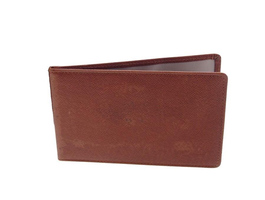 【中古】ルイヴィトン LOUIS VUITTON カードケース パスケース タイガ ブラウンの商品画像