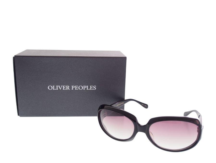 【美中古】オリバーピープルズ OLIVER PEOPLES サングラス ブラック 紫レンズ 備品完備の商品画像