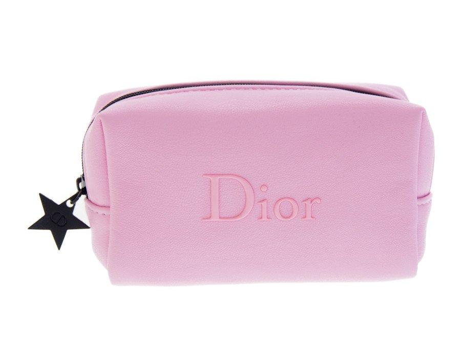 【新品】クリスチャンディオール Dior ノベルティ ポーチ スターチャーム ピンクの商品画像