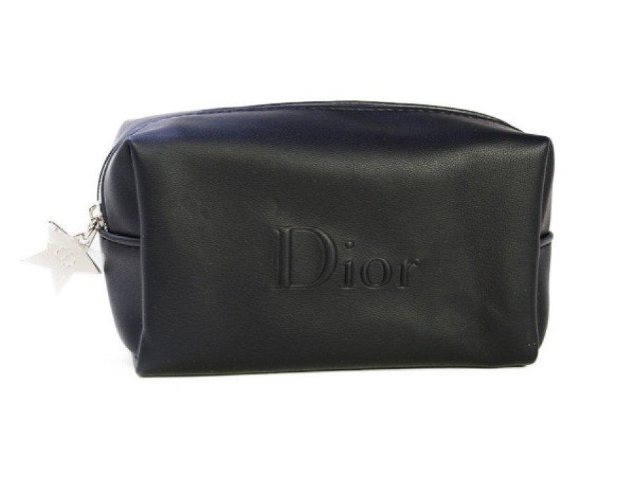 【新品】クリスチャンディオール Dior ノベルティ コスメポーチ スターチャーム 黒の商品画像