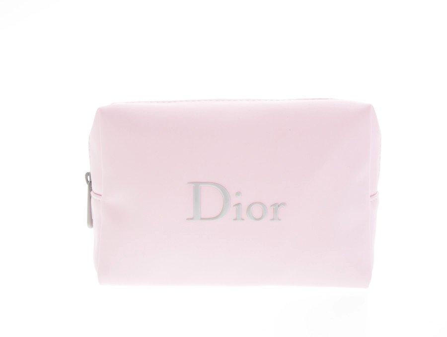 【新品】クリスチャンディオール Dior ノベルティ コスメポーチ スクエア ピンクの商品画像