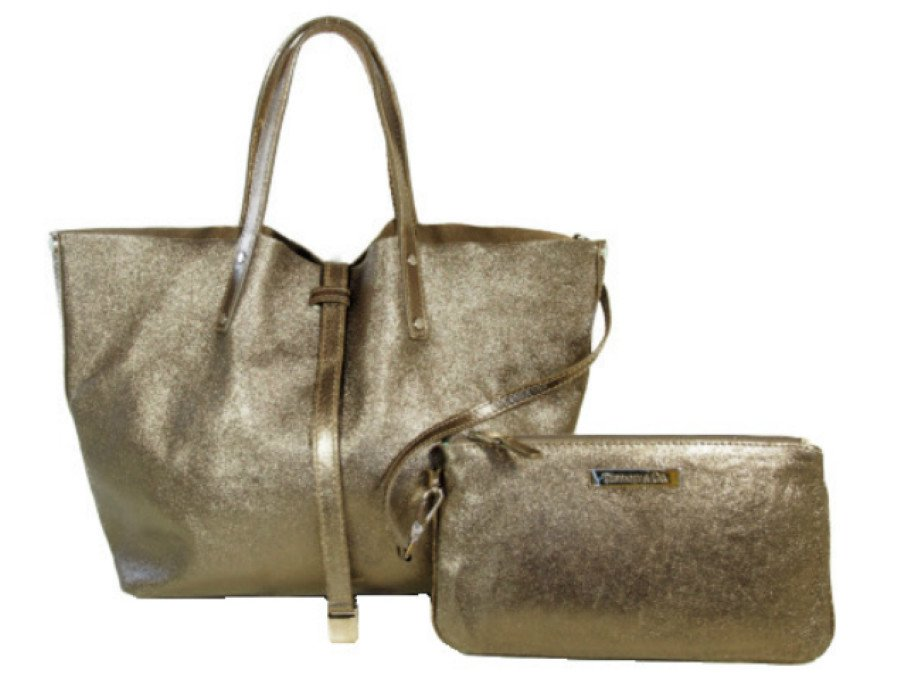 【中古】ティファニー TIFFANY&CO. ハンドバッグ&ポーチ リバーシブル スエードの商品画像