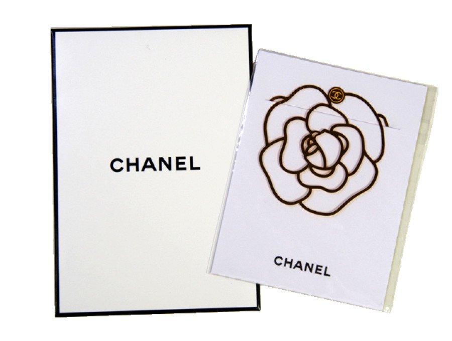 【新品】シャネル CHANEL ノベルティ しおり ブックマーク カメリア クリップ 金色の商品画像