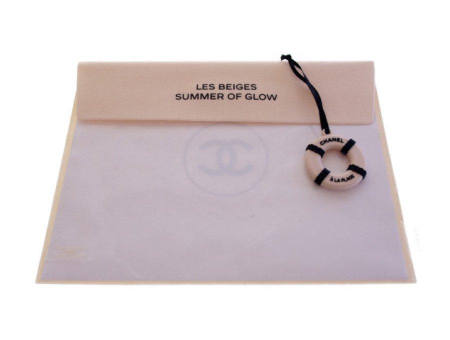 【新品】シャネル CHANEL ノベルティ LES BEIGES ポーチ チャーム ベージュの商品画像