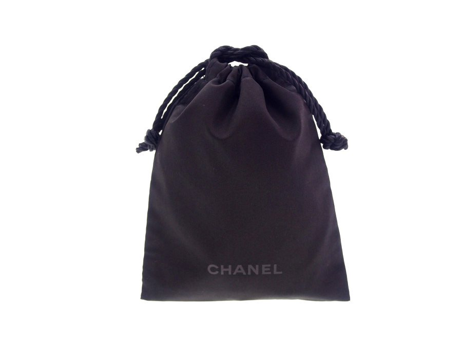 【新品】シャネル CHANEL ノベルティ ビューティー 巾着袋 ポーチ 小袋 BEAUTE 黒の商品画像