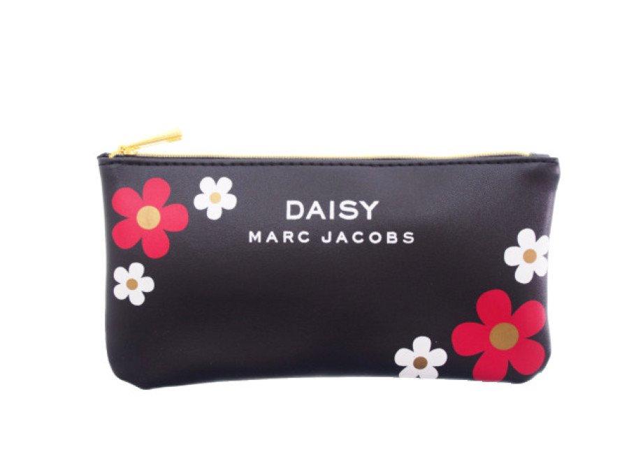 【新品】マークジェイコブス MARC JACOBS ノベルティ ポーチ デイジー DAISY フラワー 黒の商品画像