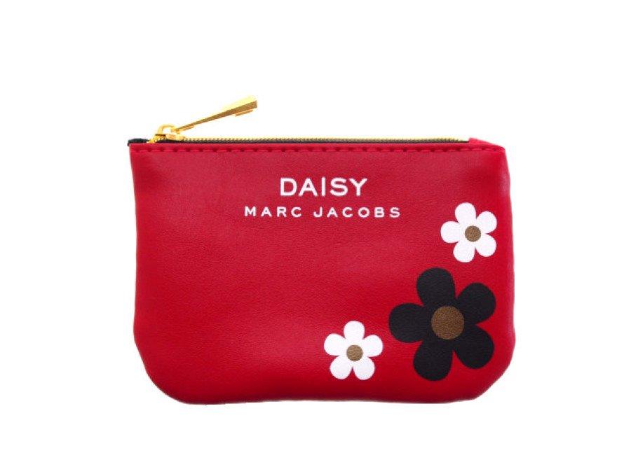 【新品】マークジェイコブス MARC JACOBS ノベルティ ポーチ デイジー DAISY フラワー 赤の商品画像