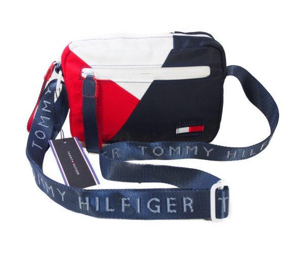 【新品】トミーヒルフィガー TOMMY HILFIGER 斜め掛けショルダーバッグ トリコロールの商品画像