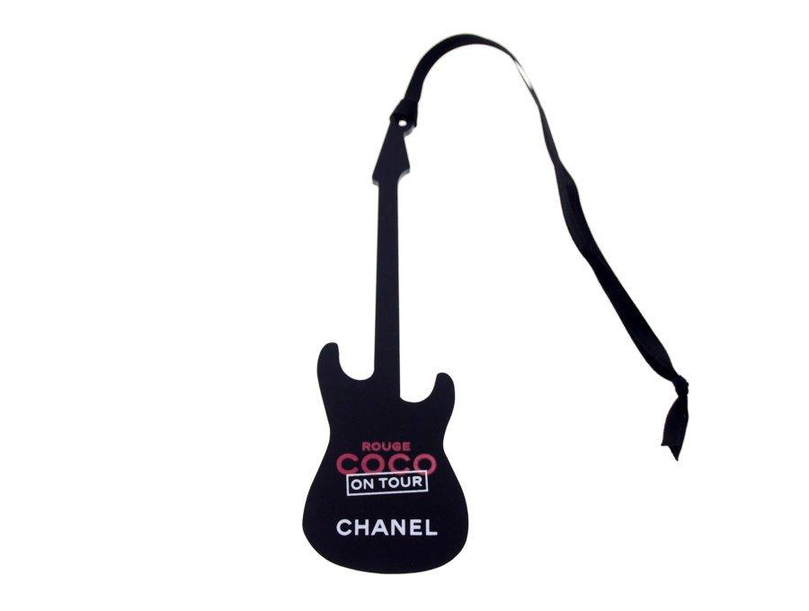【新品】シャネル CHANEL ノベルティ ギターチャーム ポップアップストア 限定品 ルージュココ ROUGE COCO NO TOUR レアカラー ブラックの商品画像