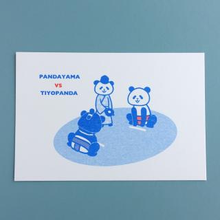 ポストカード《おすもうパンダ》