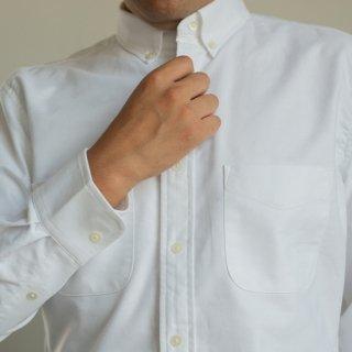 OXFORD BUTTON DOWN SHIRT −オックスフォードボタンダウンシャツー