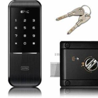 【送料無料】暗証番号 FeliCa(R) Mifare(R) 非常キーで解錠 電子錠 TRIPLEX 2(トリプルエックス2)[EPJP-TRIPLEX32]-エピック ドア カギ 鍵 電気錠 カード