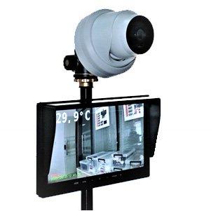 体表面温度監視カメラシステム TFC-100 サーマルカメラ 体温 発熱 検知 マスクしたまま 非接触 店舗 飲食店